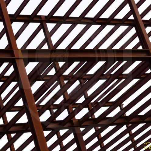 Efecto Pattern - Edificio en Deconstrucción
