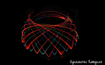 Light Painting - Ovillo